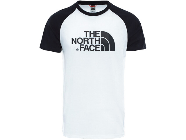 The North Face Raglan Easy Kurzarm T-Shirt Herren tnf white/tnf black